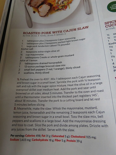 recipe from Food Network Mag