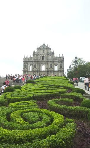 C-Macao - Vieille Ville-Eglise St-Paul (2)