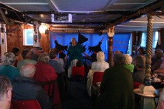 Grandma at Penzance folk club by m0nk3yphd