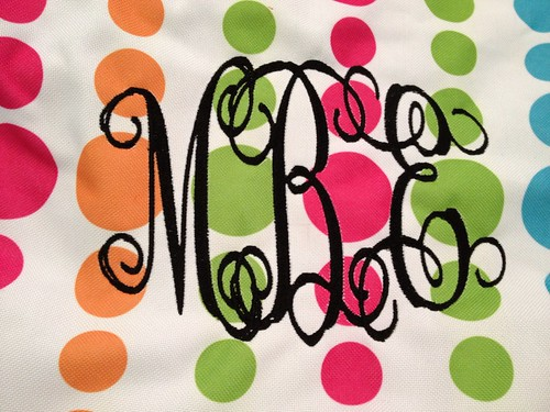 Monogram Close Up
