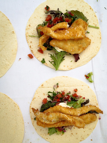Fish tacos from Rick Stein