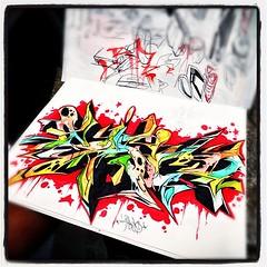 #blackbook #art by Cisco #graffalot #houstongraffiti  #instagram