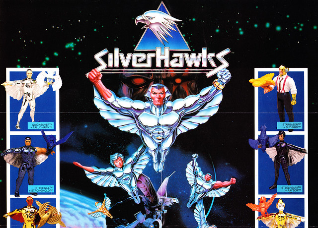 Silverhawks (KENNER) 1987 - 1988 7474226228_b13e7a85bf_z