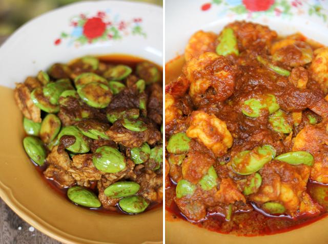 Pad Sataw (Stink Beans) ผัดสะตอ