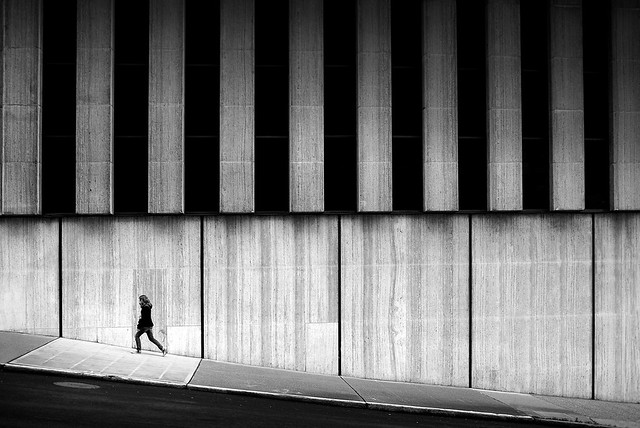 Walk - 35 Fantastic Black and Whiite Street Photographs