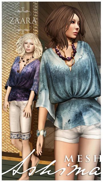 {Zaara} : [mesh] Ashima blouse