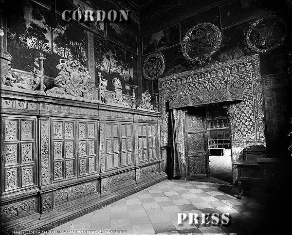 Sala Capitular de la Catedral de Toledo hacia 1875-80. © Léon et Lévy / Cordon Press - Roger-Viollet