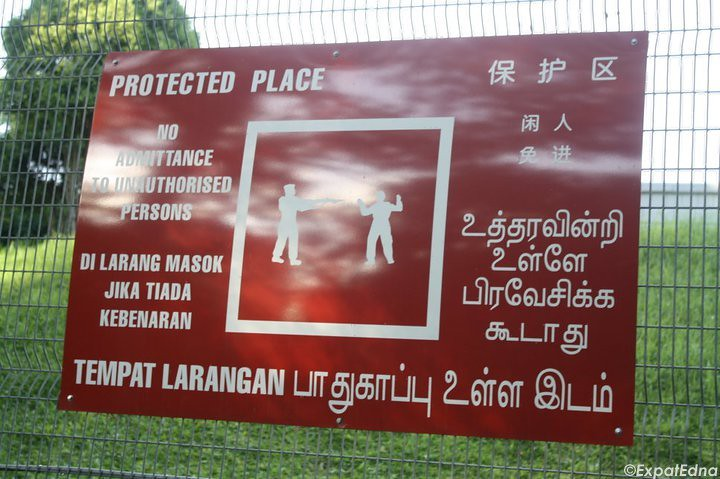 Protected Sign Singapore