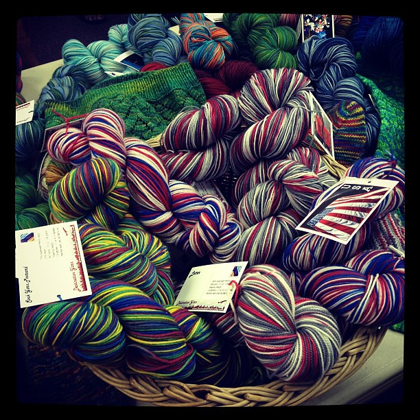 Olympic color ways!  #yarn #london #knit #knitting