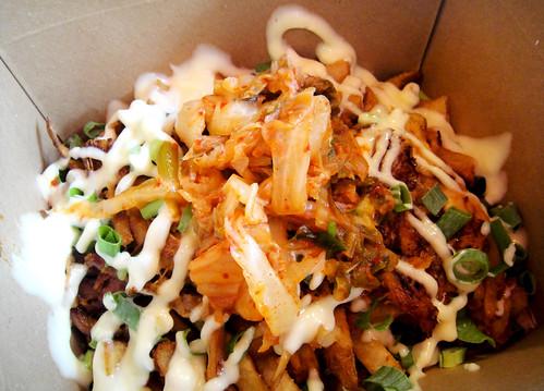 Kimchi Pulled Pork Fries