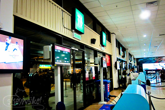 waiting for flight AK1480 at LCCT boarding area