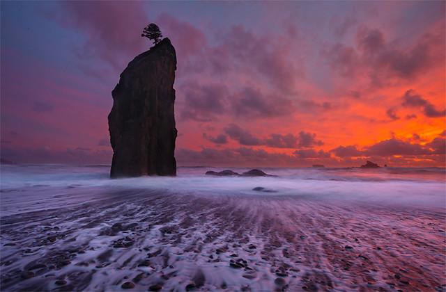 Rialto Beach - Forks Olympic National Park, Washington