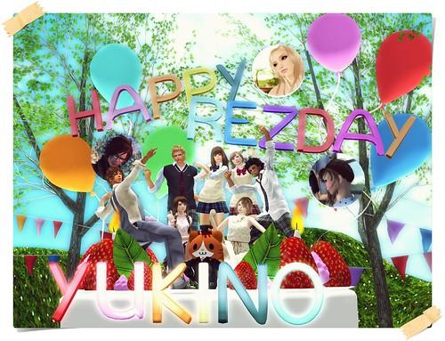 My 5th Rez day by Yukinomix