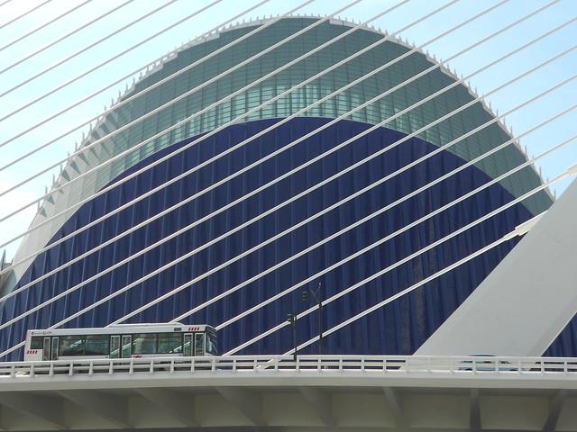 ponte e arena - Santiago Calatrava - Valencia