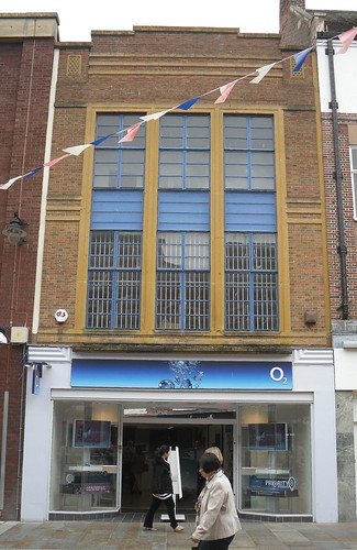 Art Deco shop, Worcester, Worcestershire,