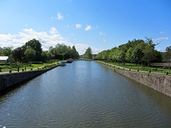 wide canal - Photo of Langouet