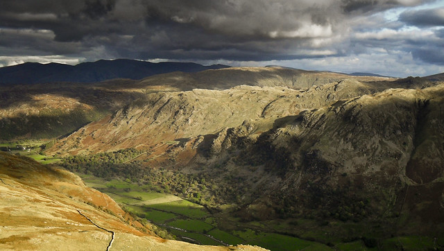 Lakeland Light - from Gillercombe Buttress