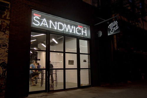 Mile End Sandwich