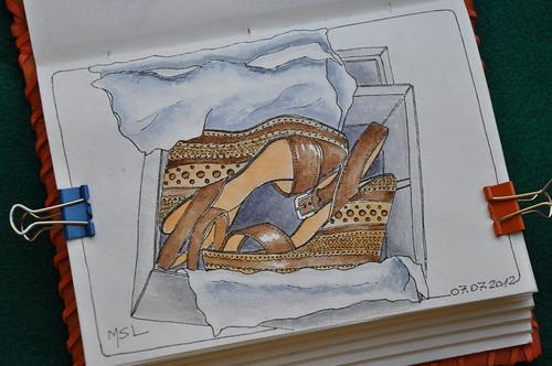 EDM Challenge #1: draw a shoe