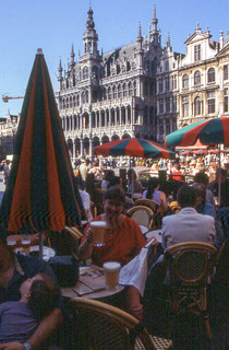 20010525 35 @ Grand Place, Brussels