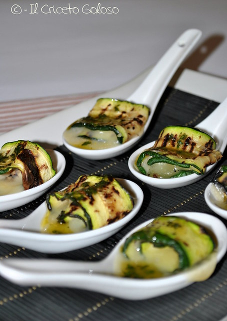 Rotolini di zucchine alla losa di capra 2