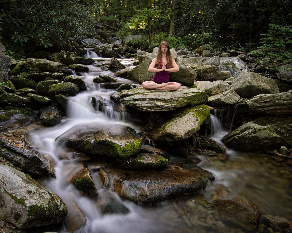 Kasey Doing Yoga - Stream