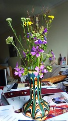 fleurs de champs sur la table by Julie70