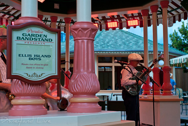Ellis Island Boys - Paradise Garden Bandstand - Disney California Adventure