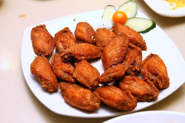 锦家庄海鲜:虾糊鸡