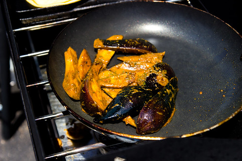 Curried Eggplant by Pgh Taco Truck