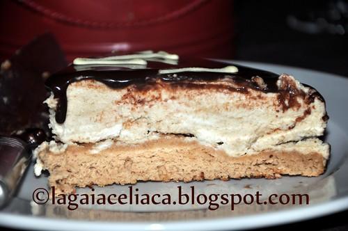 torta gelato alle castagne la fetta