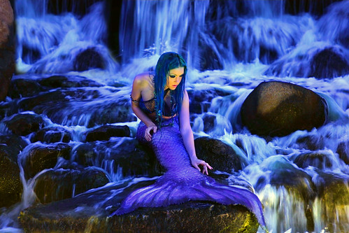 Beautiful Moon the Mermaid!