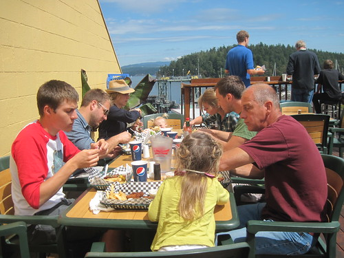 last meal at Friday Harbor by Southworth Sailor