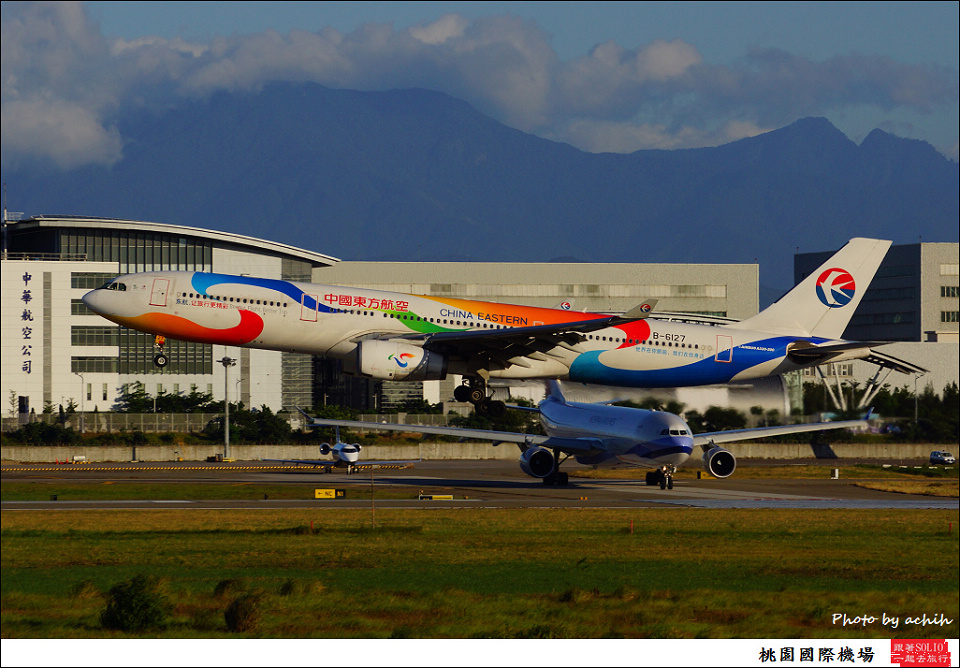 China Eastern Airlines / B-6127 / Taiwan Taoyuan International Airport
