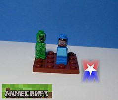 Custom Minecraft Microfigures