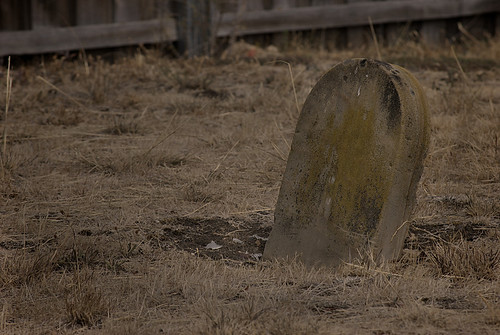 Unmarked Headstone