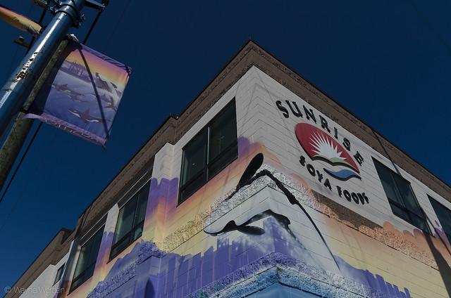 Sunrise Soya Foods Mural