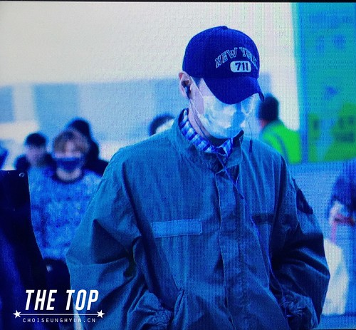 Big Bang - Incheon Airport - 27nov2015 - The TOP - 01