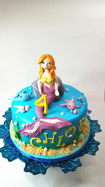 Mermaid Cake by Bogna from Cake Happens