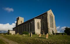 St Nicholas Church Salthouse Norfolk UK  (Zeiss 21mm)