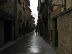 Street in Laguardia, Spain