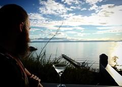 Cocktail hour #tasmania #roadtrip #wymy #leicaq #nofilter #martini #beard #freycinetnp