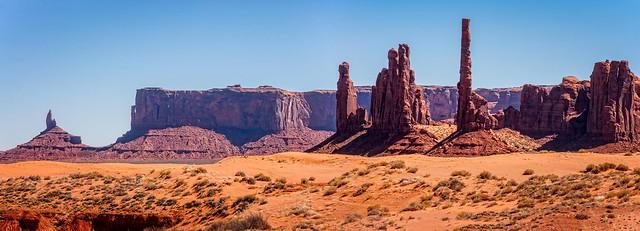 Totem Pole Panorama