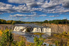 Cohoes Falls on the Mohawk River Landscape