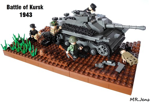 Battle of Kursk 1943 LEGO