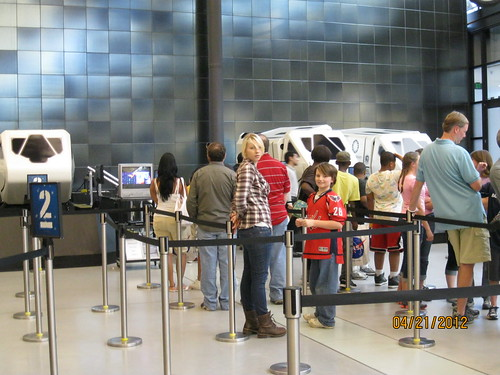 4/21/12: Getting set for the simulator, one that spins 360*