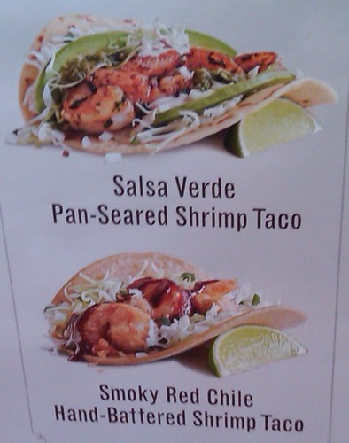 Rubio's New Shrimp Tacos