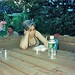 Bill Kushner Reading at the Avenue B Garden 1999