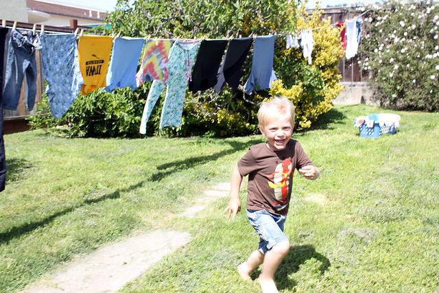 Augie Running