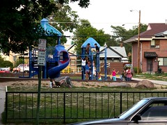 playground near affordable housing in Denver (by: Reconnecting America/CTOD, creative commons license)